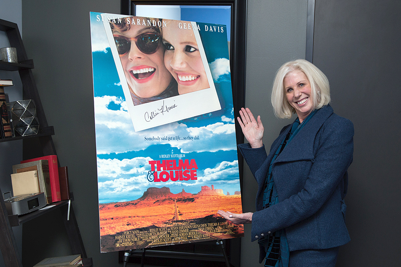<em>Thelma &amp; Louise</em> screenwriter Callie Khouri.